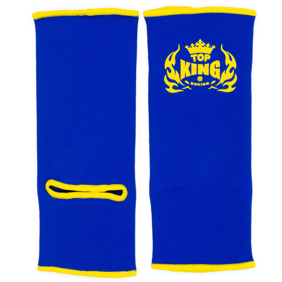 top king ankle supports blue yellow
