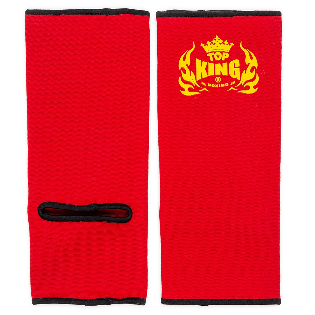 top king ankle supports red black
