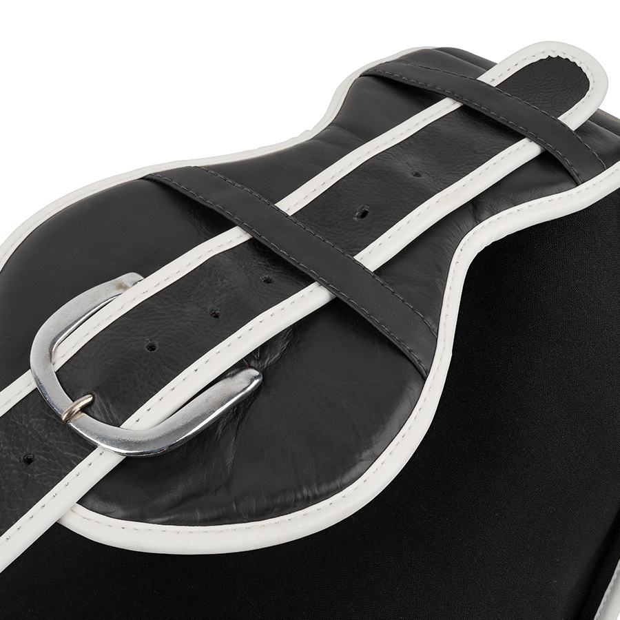 top king velcro belly pad ultimate black white