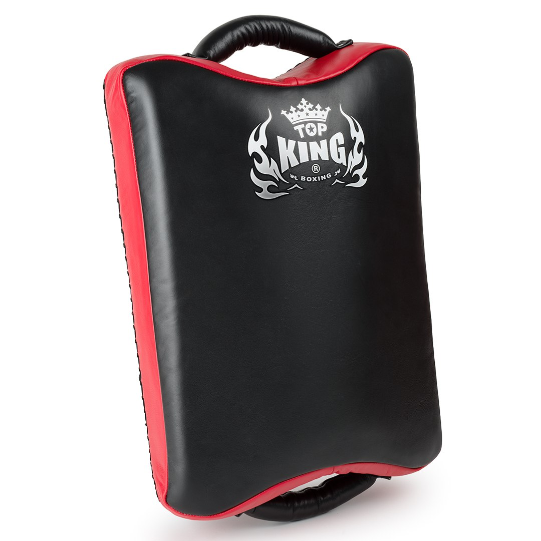 top king low kick suitcase pad black red