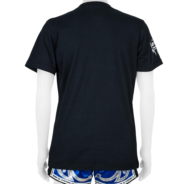 Top King Black Logo Tshirt
