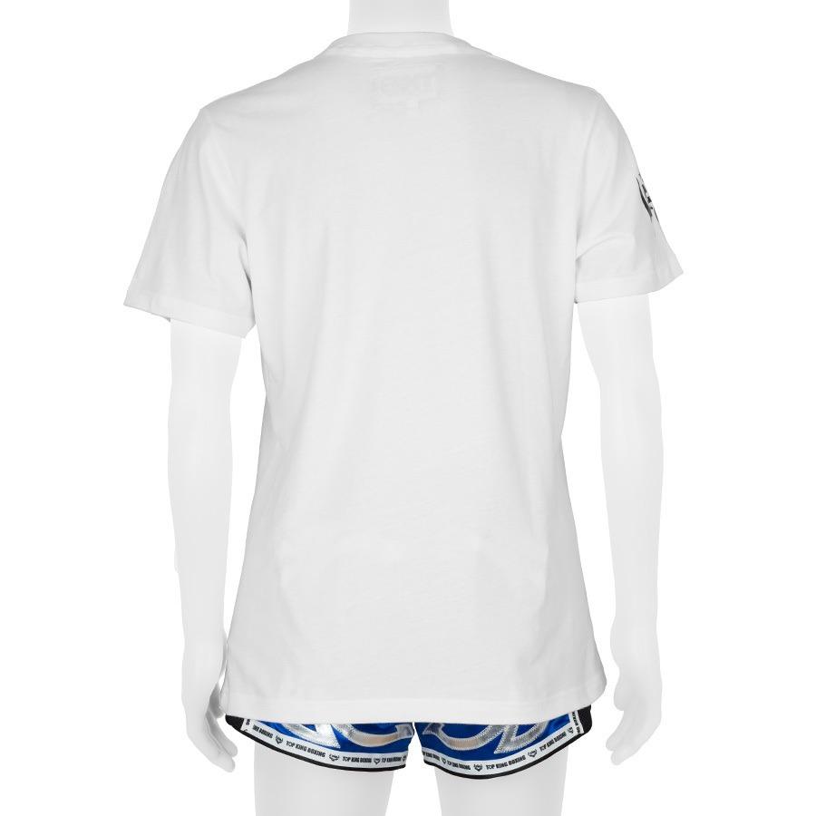 Top King White Logo Tshirt