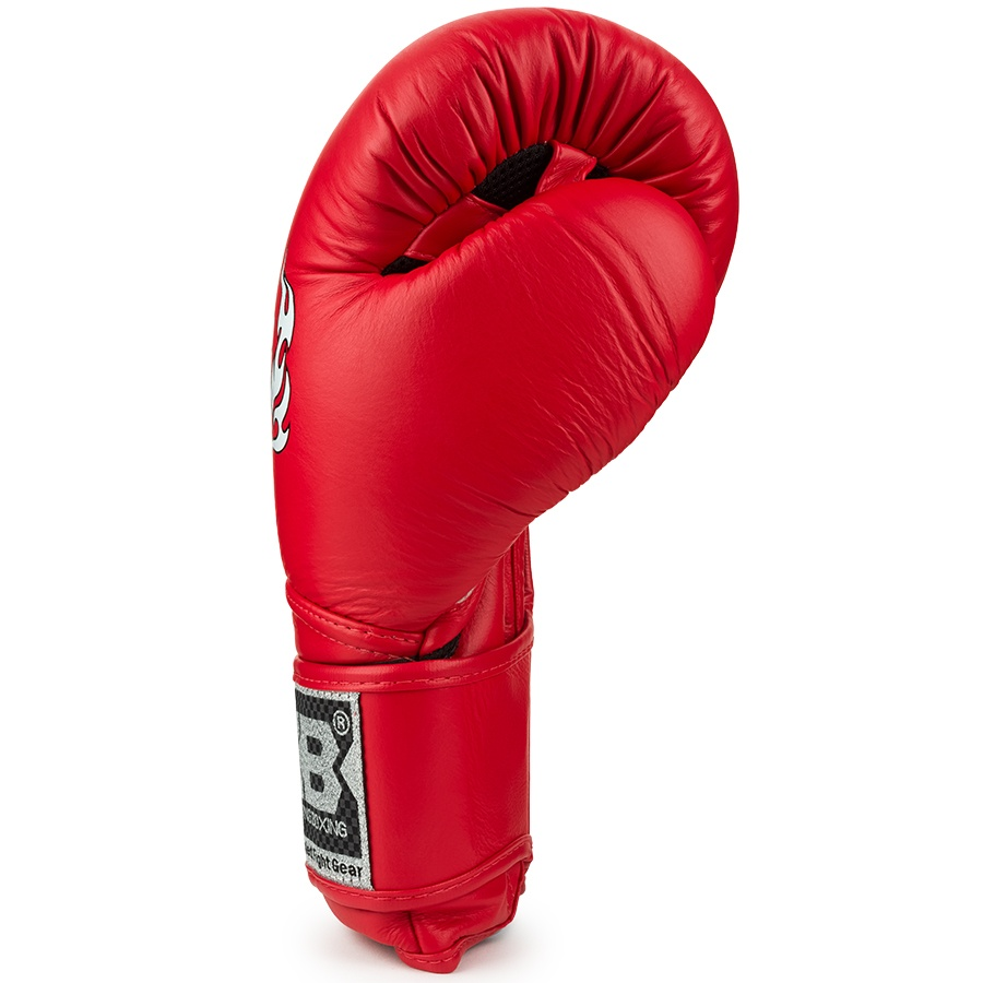 top king super air boxing gloves red
