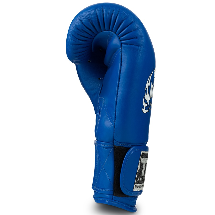 top king ultimate boxing gloves blue